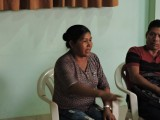 En Nauta, mujeres Cocamas debaten su historia y sus derechos para fortalecer organización