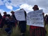 Organismos de Derechos Humanos se pronuncian contra criminalización de protesta en Fuerabambas