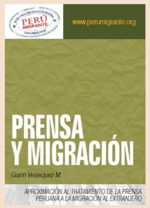 """Estudio """"Prensa y Migración"""" – 2013"""