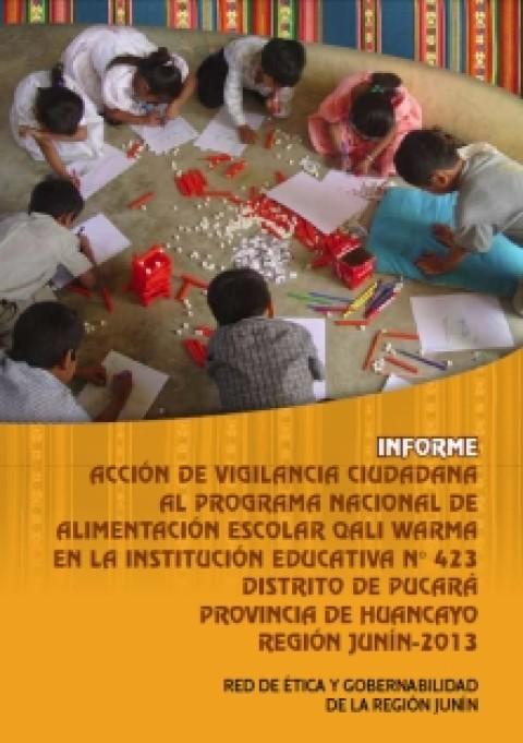Informe de Vigilancia Ciudadana al Programa Qali   Warma – Junín