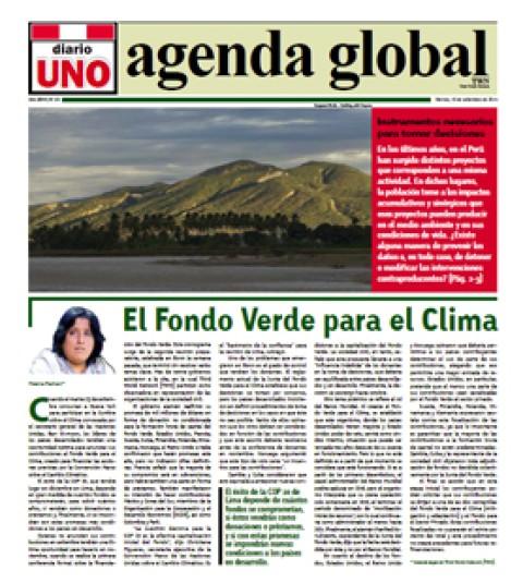 "Agenda Global: ""Instrumentos necesarios para tomar   decisiones"""