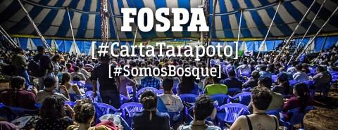 VIII FOSPA: Carta del encuentro internacional en Tarapoto 2017
