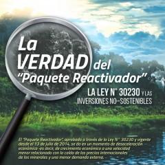 """Suplemento Informativo: La Verdad del """"Paquete Reactivador"""""""