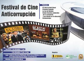 Festival de Cine Anticorrupción en UNMSM