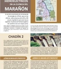 Cartilla: Grandes proyectos hidroeléctricos en la cuenca del Marañón