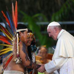 """Francisco: """"Rompamos con el paradigma que ve a la Amazonía como una despensa inagotable de los Estados sin tener en cuenta a sus habitantes"""""""