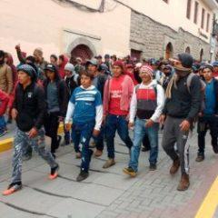 Ante la muerte de Irineo Curiñaupa y Celestino Flores y la represión policial durante el paro agrario