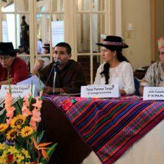 Pueblos indígenas exigen seguridad jurídica de sus territorios para frenar la corrupción