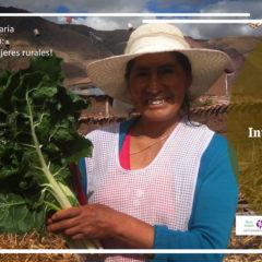 15 de octubre: Mujeres rurales, mujeres con derechos