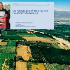 Presentan texto: «Los porqués de una iniciativa por la agricultura familiar» de especialista Rosario Romero