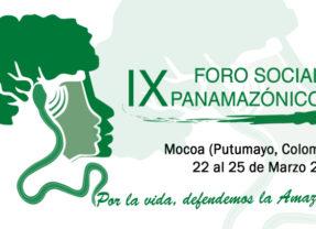 Marzo de 2020, fecha oficial del Foro Social Panamazónico en Mocoa