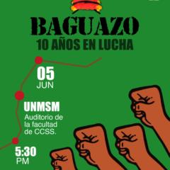 Convocatoria: BAGUAZO 10 AÑOS EN LUCHA
