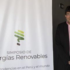 Especialista visita el Perú para promover transición energética de la Macro Región Nor-oriental