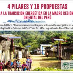 En Cajamarca, organizaciones sociales y gobierno regional debatirán propuestas para transición energética