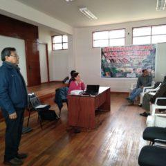 En Chachapoyas, redes de región nor oriental debaten temas estratégicos