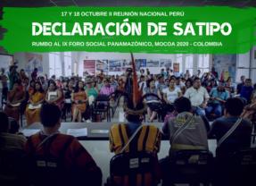 DECLARACIÓN DE SATIPO: II REUNIÓN NACIONAL FOSPA PERÚ 2019