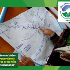 Mapa en mano, a los territorios, a defender los Ríos