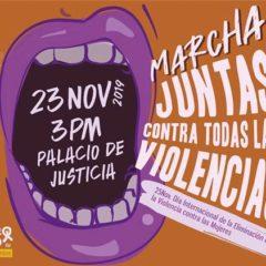 Este sábado 23 de noviembre, a tomar las calles en contra de las violencias machistas