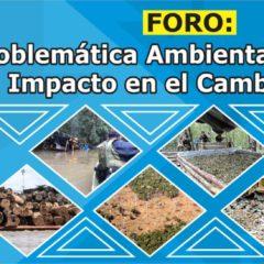 Mañana miércoles 19, en Iquitos, debaten amenazas ambientales y cambio climático (ingreso libre)