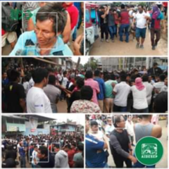 Urgente: Conflicto por minería deja indígenas gravemente heridos en Condorcanqui y continua en estos momentos