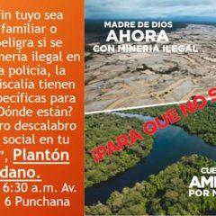 Iquitos: mañana, miércoles 19 de febrero, Todos/as a defender la vida del Río Nanay