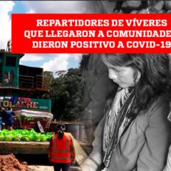Loreto: Comunidades indígenas en Trompeteros podrían haberse contagiado de COVID-19 por recibir alimentos de personas infectadas