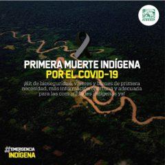 Primera muerte de indígena amazónico por Covid-19 en Perú (#EmeregenciaIndígena)