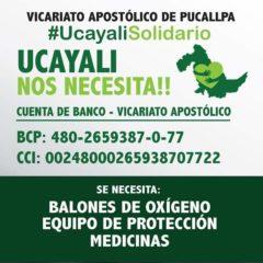 Iglesia busca oxígeno para la Amazonia peruana, ante alarmante desborde del contagio