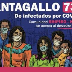 Se desborda el desastre sanitario en la comunidad indígena urbana Cantagallo de Lima