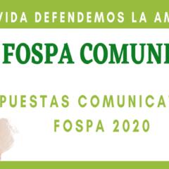 Participa en las apuestas comunicativas del Fospa 2020 (Fospa en Movimiento)