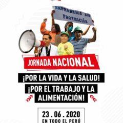 «¡La Vida antes que las ganancias!» Clama llamado a movilización ciudadana (23 de junio, 10 am., plaza dos de mayo)
