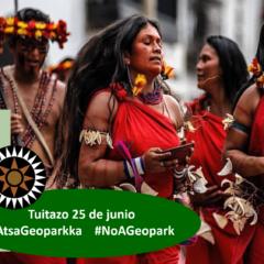 Gobierno Territorial Wampís llama a apoyar Tuitazo contra petrolera Geopark, que amenaza contaminar su territorio y extender la pandemia (jueves 25 de junio, 6 pm.)