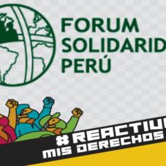 Súmate a la campaña #ReactivaMisDerechos: Si se reactiva la economía, que se reactiven también los derechos de todos y todas