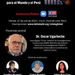Conferencia pública: Cambiar las reglas económicas para salir de la crisis (17 de julio, 4 pm.)