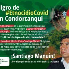 Peligro de #EtnocidioCovid en Condorcanqui