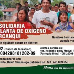Urgente: Ayúdanos a llevar oxígeno a Condorcanqui (Pueblos amazónicos te necesitan)