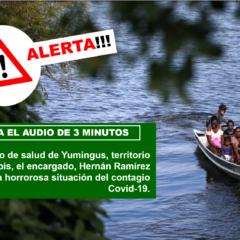 ¡Alerta!!! Desde el puesto de salud de Yuminkus, Territorio Awajún Wampís, se desborda la pandemia Covid-19