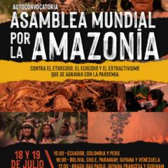 Las organizaciones del Foro Social Panamazónico (FOSPA) apoyamos convocatoria de la Asamblea Mundial por la Amazonia