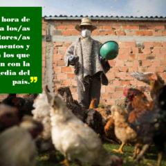 Es hora de apoyar a los/as productores/as de alimentos y no a los que lucran con la tragedia