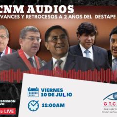 Mañana, viernes 10 de julio, 11 am: Foro CNM Audios: Avances y Retrocesos a 2 años del Destape