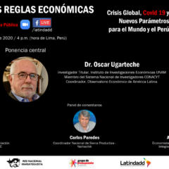 Con estas reglas, No! Conferencia Pública Virtual: CAMBIAR LAS REGLAS ECONÓMICAS para salir de la crisis (17 de julio, 4 pm.)