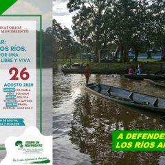 Hoy: ¡A defender la Vida de los Ríos Amazónicos!!! (3 PM. Colombia / Perú)