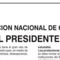 Señor presidente: «Lo principal y urgente es tener una estrategia sanitaria clara» (Carta abierta de la ANC al presidente Vizcarra)