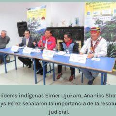 Celebramos asunción de Elmer Ujukanen en la presidencia del Consejo Especial Permanente del Pueblo Awajun