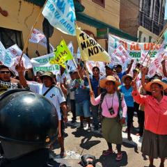 Organizaciones europeas preocupadas por judicialización para obstaculizardefensa del medio ambiente y derecho a la protesta